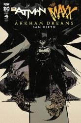 Batman The MAXX Arkham Dreams #4 (of 5) Cover C 1:10 Incentive Ashley Wood Variant Cover