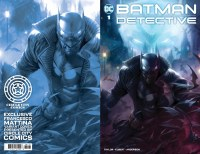 Batman The Detective #1 Cover CCCTD Circle City Comics Exclusive Francesco Mattina Trade Dress Variant