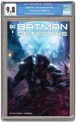 Batman The Detective #1 Circle City Comics Exclusive Francesco Mattina Trade Dress Variant CGC 9.8