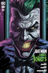 Batman Three Jokers #2 Premium Variant D Jason Fabok Behind Bars Cover