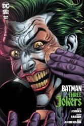 Batman Three Jokers #2 Premium Variant F Jason Fabok Applying Makeup Cover
