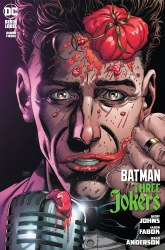 Batman Three Jokers #3 Premium Variant H Jason Fabok Stand-Up Comedian Cover