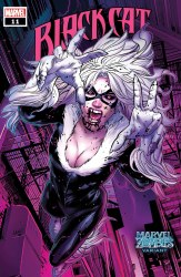 Black Cat (2019) #11 Cover B Greg Land Marvel Zombies Variant Cover