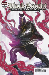 Black Knight Curse Of The Ebony Blade #1 (of 5) Cover G 1:25 Ratio Incentive Stephanie Hans Legend Of The Black Knight Variant Cover