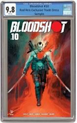 Bloodshot Vol 4 #10 Rod Reis Circle City Exclusive 9.8 CGC