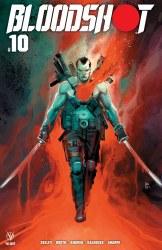 Bloodshot Vol 4 #10 Rod Reis Trade Dress Circle City Comics Exclusive