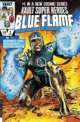 Blue Flame #1 Cover D 1:15 Ratio Incentive Richard Pace Variant Cover