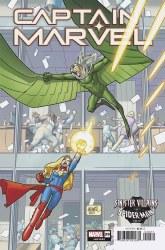 Captain Marvel Vol 9 #29 Cover B Variant David Lafuente Spider-Man Villains Cover