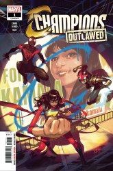 Champions Vol 4 #1 (0f 5) Cover A Regular Toni Infante Cover (Outlawed Tie-In)