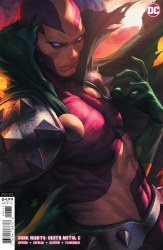 DARK NIGHTS DEATH METAL #6 (OF 7) COVER C STANLEY ARTGERM LAU MISTER MIRACLE VARIANT COVER