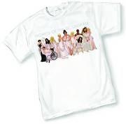DCU Stars By Adam Hughes T-Shirt Size Medium