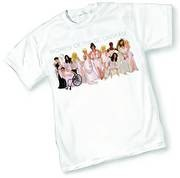DCU Stars By Adam Hughes T-Shirt Size XL