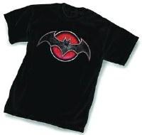 Flashpoint Batman Symbol T-Shirt Size XL