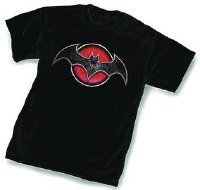 Flashpoint Batman Symbol T-Shirt Size XXL