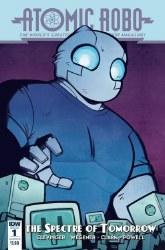 Atomic Robo Spectre Of Tomorrow #1 Cvr B Wiedle w #1 Cvr B Wiedle