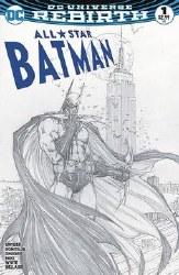 All-Star Batman #1 Aspen Black & White Michael Turner Variant Set