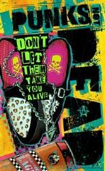 Punks Not Dead #4 Cvr A Simmonds ds