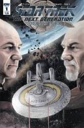 Star Trek Tng Through The Mirror #1 Cvr A Woodward (C: 1-0-0 or #1 Cvr A Woodward (C: 1-0-0
