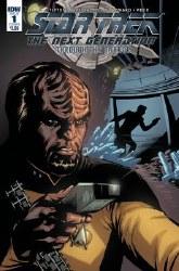 Star Trek Tng Through The Mirror #1 Cvr B Johnson (C: 1-0-0) or #1 Cvr B Johnson (C: 1-0-0)