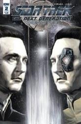 Star Trek Tng Through The Mirror #2 Cvr A Woodward (C: 1-0-0 or #2 Cvr A Woodward (C: 1-0-0