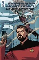 Star Trek Tng Through The Mirror #2 Cvr B Johnson (C: 1-0-0) or #2 Cvr B Johnson (C: 1-0-0)