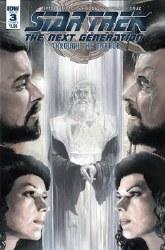 Star Trek Tng Through The Mirror #3 Cvr A Woodward (C: 1-0-0 or #3 Cvr A Woodward (C: 1-0-0