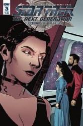 Star Trek Tng Through The Mirror #3 Cvr B Hood (C: 1-0-0) or #3 Cvr B Hood (C: 1-0-0)