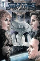 Star Trek Tng Through The Mirror #5 Cvr A Woodward (C: 1-0-0 or #5 Cvr A Woodward (C: 1-0-0