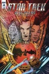 Star Trek Discovery Succession#4 Cvr A Hernandez #4 Cvr A Hernandez