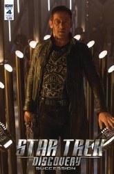 Star Trek Discovery Succession#4 Cvr B Photo #4 Cvr B Photo