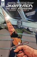 Star Trek Tng Terra Incognita#1 Cvr A Shasteen #1 Cvr A Shasteen