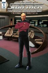 Star Trek Tng Terra Incognita#1 Cvr B Photo #1 Cvr B Photo
