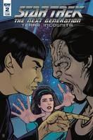 Star Trek Tng Terra Incognita#2 Cvr A Shasteen #2 Cvr A Shasteen