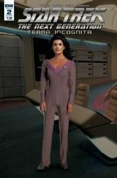 Star Trek Tng Terra Incognita#2 Cvr B Photo #2 Cvr B Photo