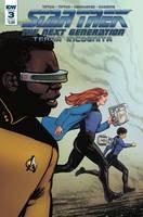 Star Trek Tng Terra Incognita#3 Cvr A Shasteen #3 Cvr A Shasteen