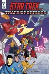 Star Trek Vs Transformers #1 (Of 5) Cvr A Murphy Of 5) Cvr A Murphy