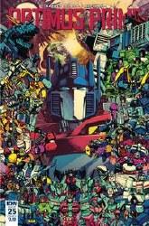 Optimus Prime #25 Cvr A Zama