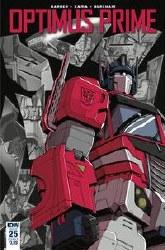 Optimus Prime #25 Cvr B Coller