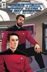 Star Trek Tng Terra Incognita#4 Cvr A Shasteen #4 Cvr A Shasteen