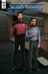 Star Trek Tng Terra Incognita#4 Cvr B Photo #4 Cvr B Photo