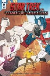 Star Trek Vs Transformers #2 (Of 5) Cvr A Murphy Of 5) Cvr A Murphy