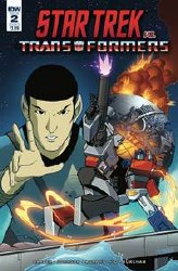 Star Trek Vs Transformers #2 (Of 5) Cvr B Ferreira Of 5) Cvr B Ferreira