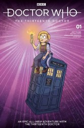 Doctor Who 13th #1 Cvr G Graley y
