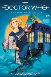 Doctor Who 13th #1 Cvr H Kristantina & Kholinne antina & Kholinne