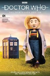 Doctor Who 13th #1 Cvr J Doctor Puppet r Puppet