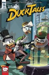 Ducktales #15 Cvr A Ghiglione(C: 1-0-0) (C: 1-0-0)