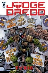 Judge Dredd Toxic #2 Cvr A Buckingham kingham