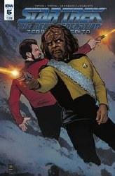 Star Trek Tng Terra Incognita#5 Cvr A Shasteen #5 Cvr A Shasteen