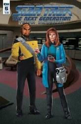 Star Trek Tng Terra Incognita#5 Cvr B Photo #5 Cvr B Photo
