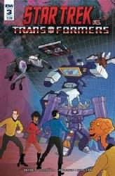 Star Trek Vs Transformers #3 (Of 5) Cvr A Murphy Of 5) Cvr A Murphy